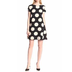 Donna Morgan Polka Dot Flare Swing Dress   10